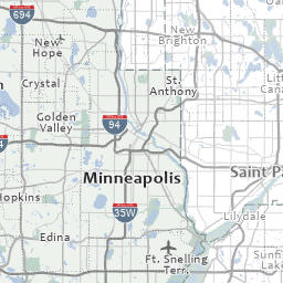 Parks Interactive Map Hennepin County